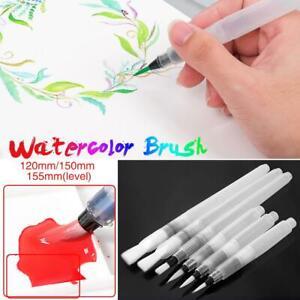 Pen-Water-Color-6pcs-Watercolor-Art-Drawing-Brush-Color-Pencil-Refillable