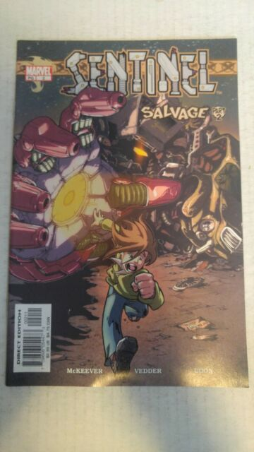Sentinel #2 July 2003 Marvel Comics Mckeever Vedder Udon