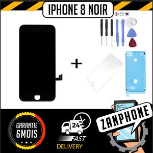 ECRAN-LCD-SUR-CHASSIS-VITRE-TACTILE-IPHONE-8-NOIR-LIVRAISON-GRATUITE