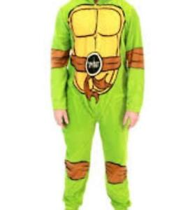 53c55cb43257 Image is loading Teenage-Mutant-Ninja-Turtle-One-Piece-Pajamas-COSTUME-