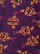 New Lularoe OS Halloween leggings scarecrow jack o lantern pumpkins unicorn htf