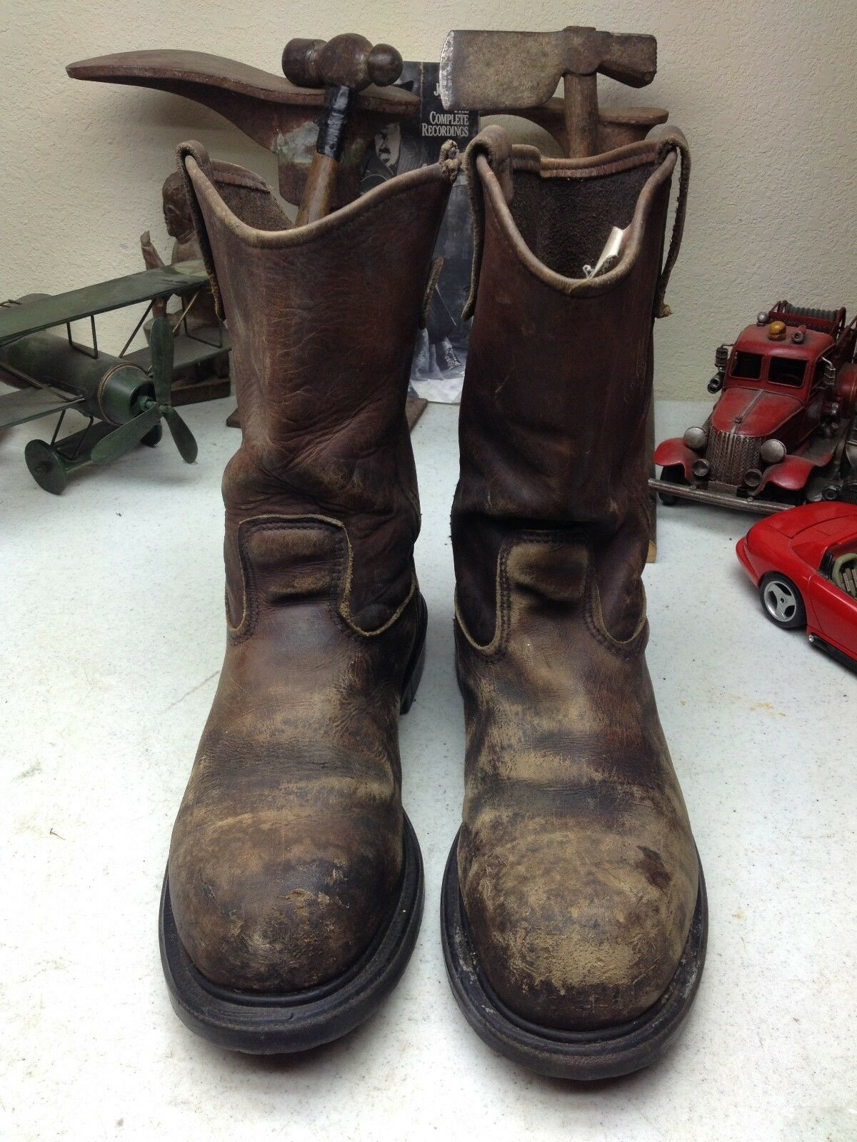 rot WING 2231 2231 2231 DISTRESSED USA braun LEATHER OIL RIG TOOL PUSHER BOSS Stiefel 11.5 D b8e7f0
