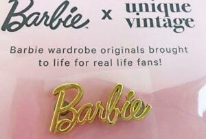 Barbie-Convention-Sparkling-Gold-Barbie-Logo-Pin-Adult-Size-New