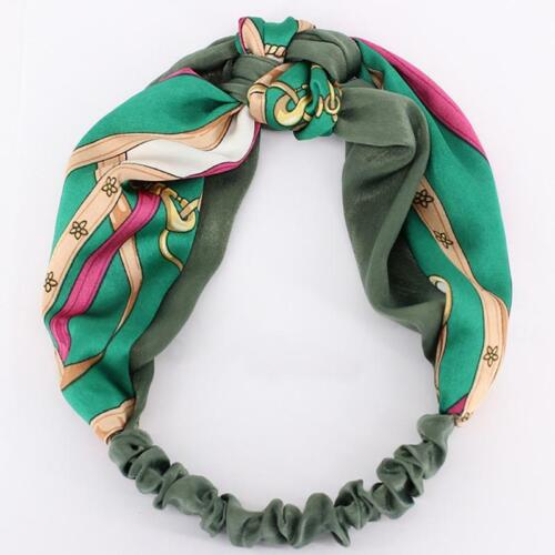 Fashion Women Turban Twist Knot Head Wrap Headband Twisted Knotted Hair Band W