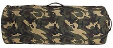 "42"" Jumbo Woodland Camouflage Heavyweight Military-Style Giant Camo Duffle Bag"