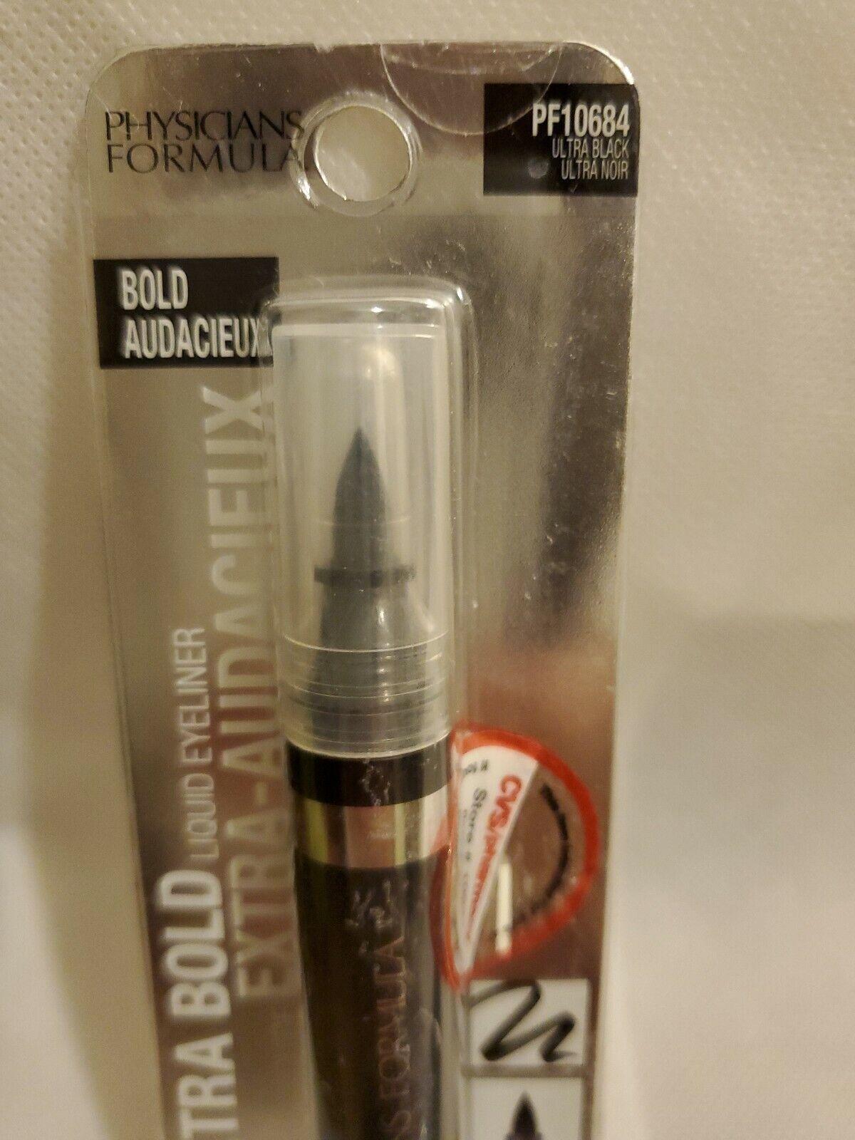 Physicians Formula Extra Bold Liquid Eyeliner PF9 Ultra Black