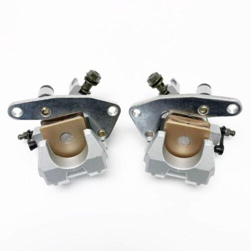 Front Left Right Brake Calipers For Yamaha Raptor 660R YFM 660R 01-05 With Pads