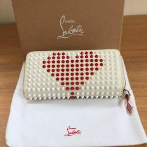 Very-Rare-Christian-Louboutin-Japan-limited-item-Heart-long-wallet-From-JP-F-S