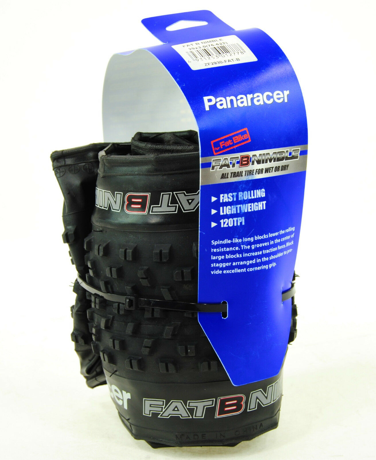 Panaracer Fat B Nimble 29   x 3.0 Fat Mountain Bike Tire Folding Bead Fast 29+  clearance up to 70%