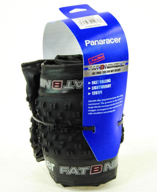 "Panaracer Fat B Nimble 29/"" x 3.0 Fat Mountain Bike Tire Folding Bead Fast 29+"