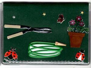 Gardening Themed Debit Holder w/ Register and Photo Insert Deb3