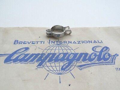 #170 *Rare NOS Vintage 1950s Campagnolo rear stay gear cable guide clip *
