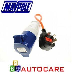 Maypole-230V-Mains-Hook-Up-Adapter-Conversion-Plug-For-Caravan-Motorhomes