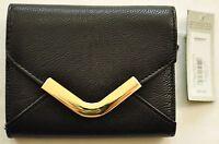 Women's Apt.9 Rhonda Wallet v Envelope Black 10 Cards,id Slot Msrp $28