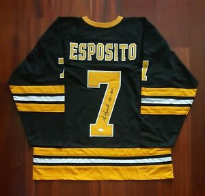 Image is loading Phil-Esposito-Autographed-Signed-Jersey-Boston-Bruins-JSA 4620114577b