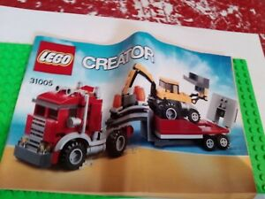 Lego Creator Instruction Manual Booklet Only 31005 Free Uk Post In