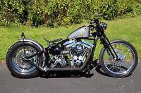 Vintage Softail Springer Bobber Chopper Rolling Chassis Frame Harley Kit Roller