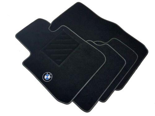 battitacco Tappetini BMW Serie 1 E87 dal 2004 al 2013 1 ricamo