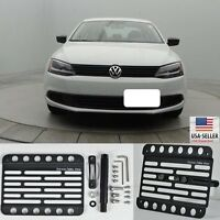For 11-14 Volkswagen Jetta Ncs Sedan Front Bumper Tow Hook Bracket License Plate