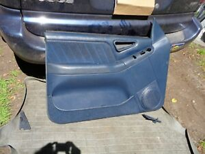 95 97 Blazer S10 Front Left Driver Door Panel Blue Color 59b Ebay