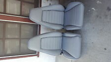 PORSCHE 911 912 930 TURBO SPORT SEAT KIT NEW UPHOLSTERY 100% LEATHER BEAUTIFUL