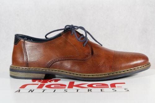Rieker zapatillas zapato bajo cortos azul cuero genuino textil nuevo