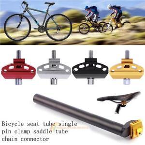 1X Mountain Bike Seatpost Head Saddle Pipe Head Bicycle Screw Seat Tube Chuck HD