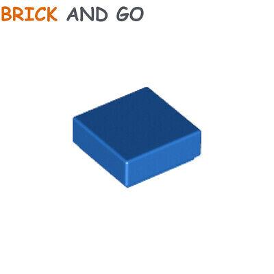 30039 35403 NEUF 6x Plaque Lisse // Tile 1x1 Bleu // Blue Lego 3070b