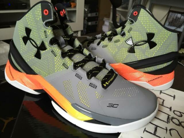88183dbf39a Under Armour UA Curry 2 Two Forging Iron Sharpens Steel Sunbleached  1259007-035