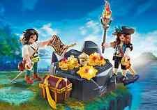 Playmobil Pirati Rif 6683 NUOVO, Set Pirati con Tesoro, Corsari,, Nave Pirata