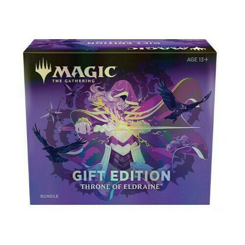 MTG Magic: The Gathering Throne of Eldraine Bundle Gift Edition