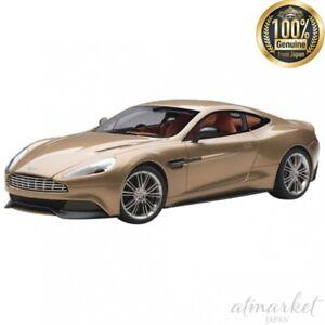 AUTOart-70248-Mini-Car-1-18-Aston-Martin-Vanquish-2015-Bronze-Finished-Item