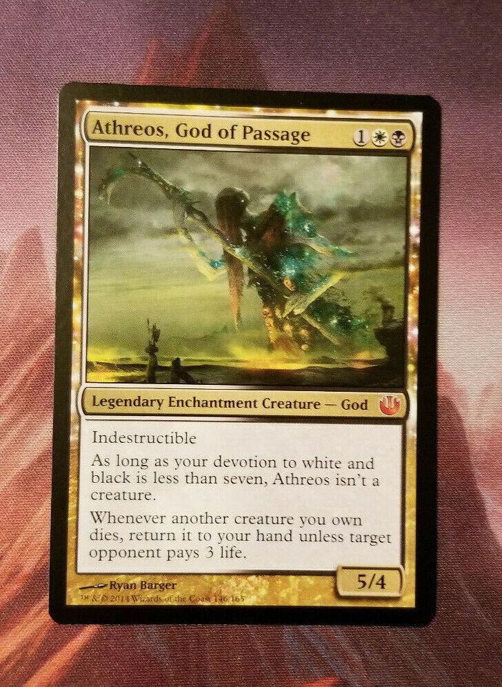 Athreos, God of Passage - Journey into Nyx Nyx Nyx - MTG - Near MINT - Never Played  99b6da