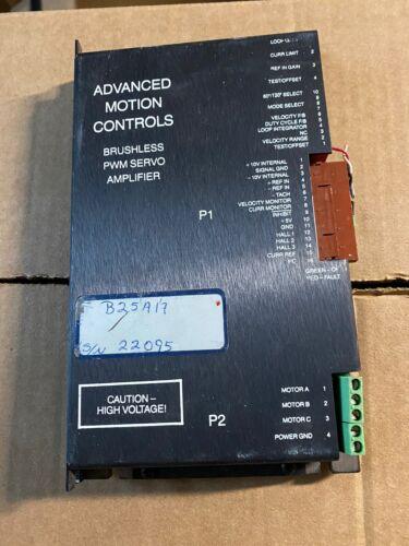 Advanced Motion Controls Brushless PWM Servo Amplifier B25A17