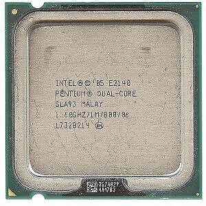 Intel PENTIUM E2140 Dual Core 1.6GHz 1MB Cache 800MHz Socket LGA 775