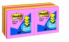 Post It Pop Up Notes In Neon Colors Pop Up Self Adhesive Repositionable 3