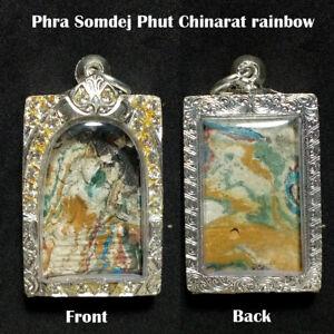 OLD Ring  Leklai Wat Thai Buddha Amulet Gemstone Magic Luck #01