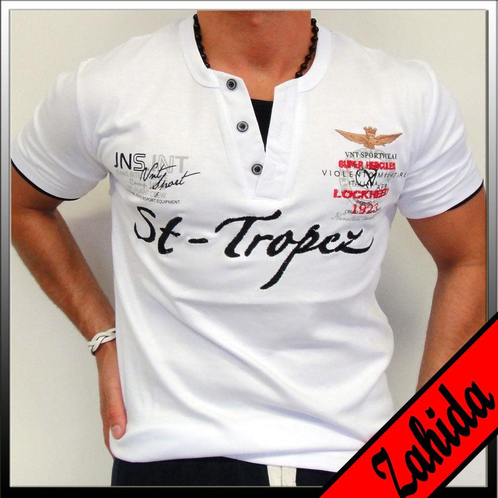 Zahida Polo Men's T-Shirt Short Sleeve Long Shirt M L XL XXL NEW