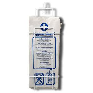 Spender Set mit Hygienebag für Damenbinden Hygiene-Bag-Spender +Zellulose Beutel