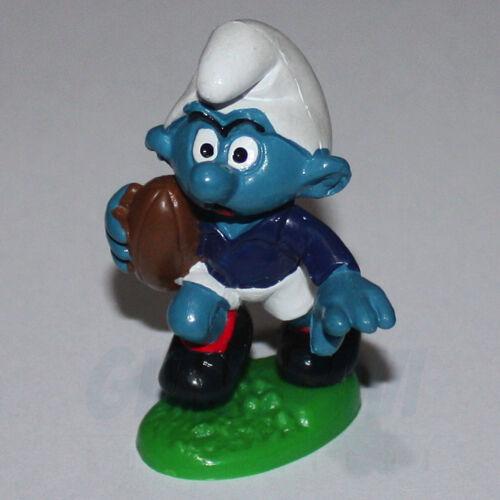 PUFFO PUFFI SMURF SMURFS SCHTROUMPF 2.0065 20185 Rugby Smurf Puffo Rugbista 11B
