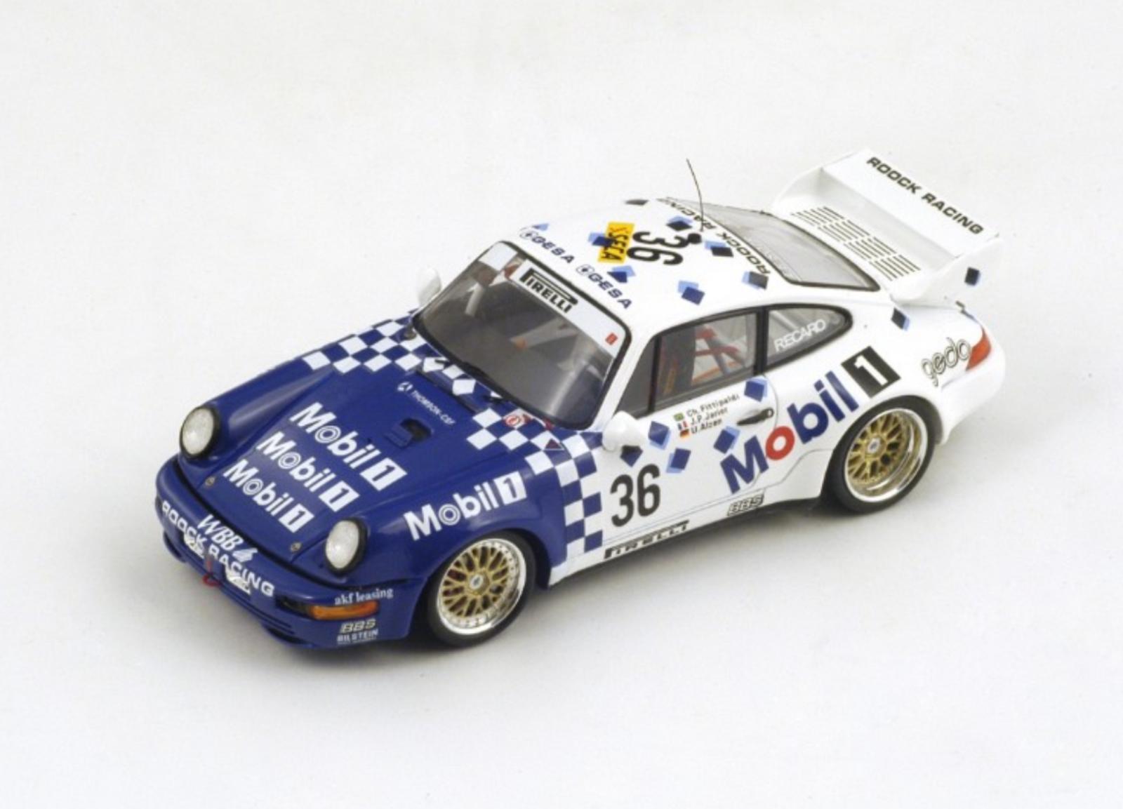 1 43 Porsche 911 n°36 Spa 1993 1 43 • SPARK SB008