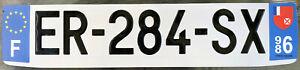 SOUTH-PACI-FRANCE-OVERSEAS-2010-039-s-WALLIS-amp-FUTUNA-LICENSE-PLATE-DOM-TOM