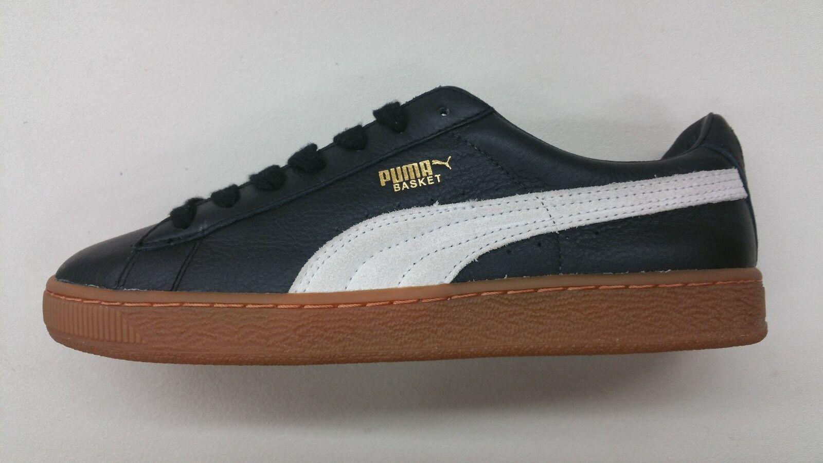Puma Basket II 2 Negro Blanco Bottom Gum Bottom Blanco Classic Hombre zapatos de temporada 351912-36 1701-45 recortes de precios, beneficios de descuentos fd51ea