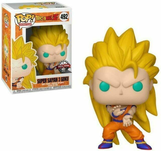 Super Saiyan 3 Goku Ss3 Dragonball Z Dbz Funko Pop Gamestop 492 For Sale Online Ebay