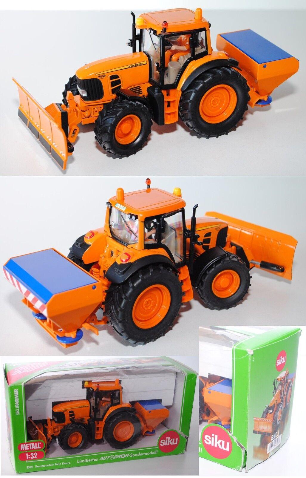 Siku Farmer 8503 John Deere 7430  Kommunalset Zandvoort sondrmodell Limited 1 32  coloris étonnants