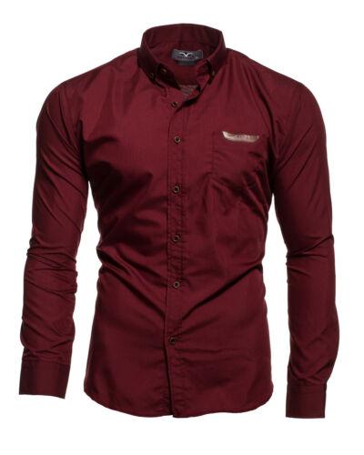 KAYHAN herren hemden hochzeit gastro freizeit slim fit Hemd S-XXL