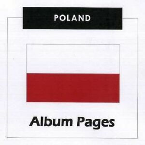 Poland - CD-Rom Stamp Album 1860 - 2017 Album Pages Classic Stamps Illustrated