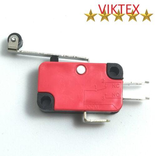 2x microinterruptor presión de sonda micro palanca 3 pin 6a 230v papel langer palanca