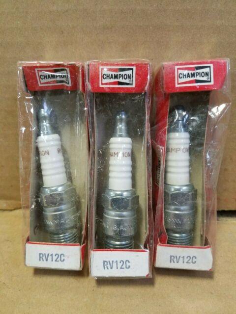 Champion 406 RV12YC Spark Plug No Box* for sale online