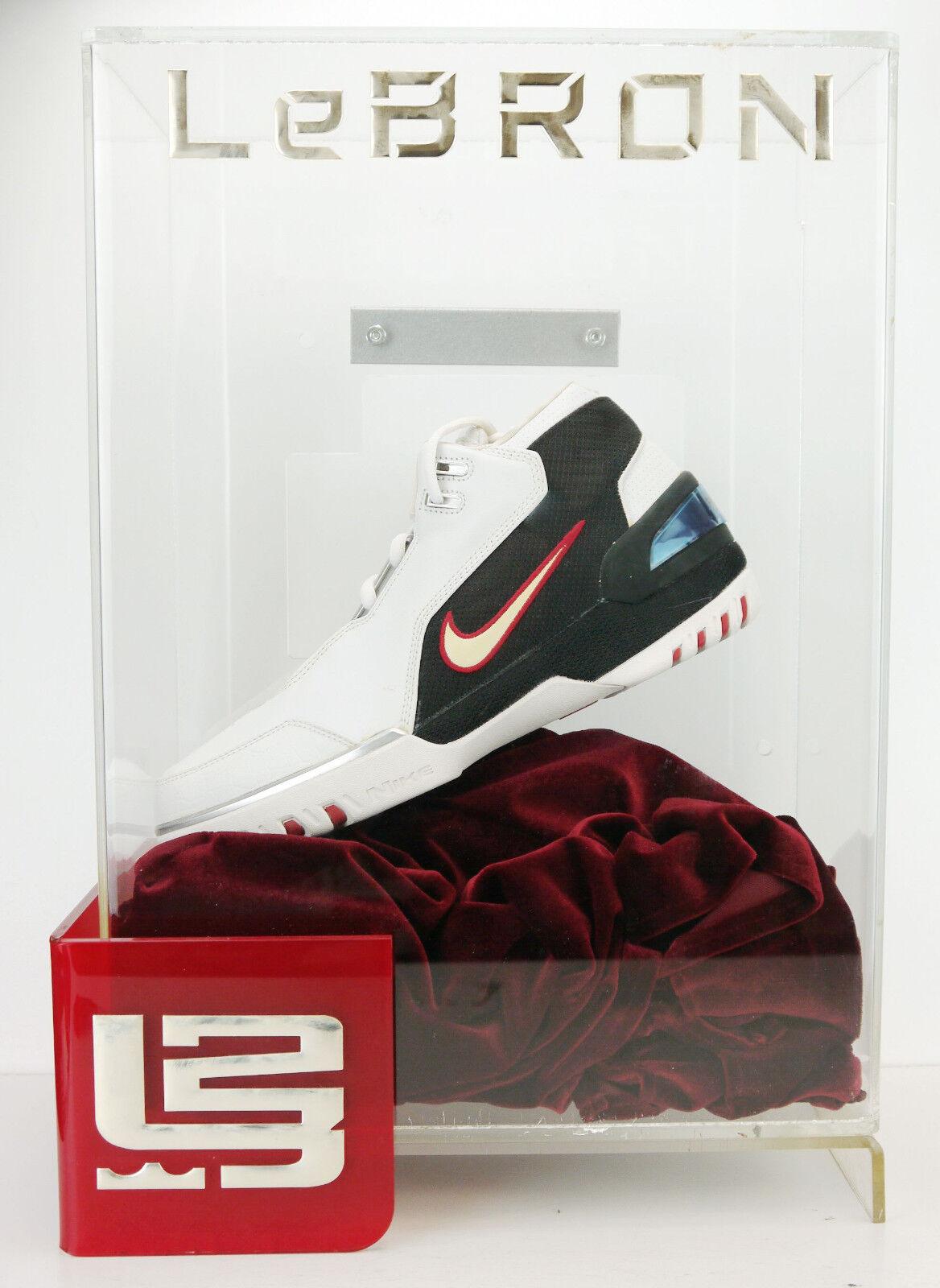 OG 2003 Nike Air Zoom Generation Display Case AZG LeBron 308214-111 sz 10.5